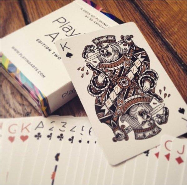 Playing Card Design Template Elegant 27 Playing Card Designs