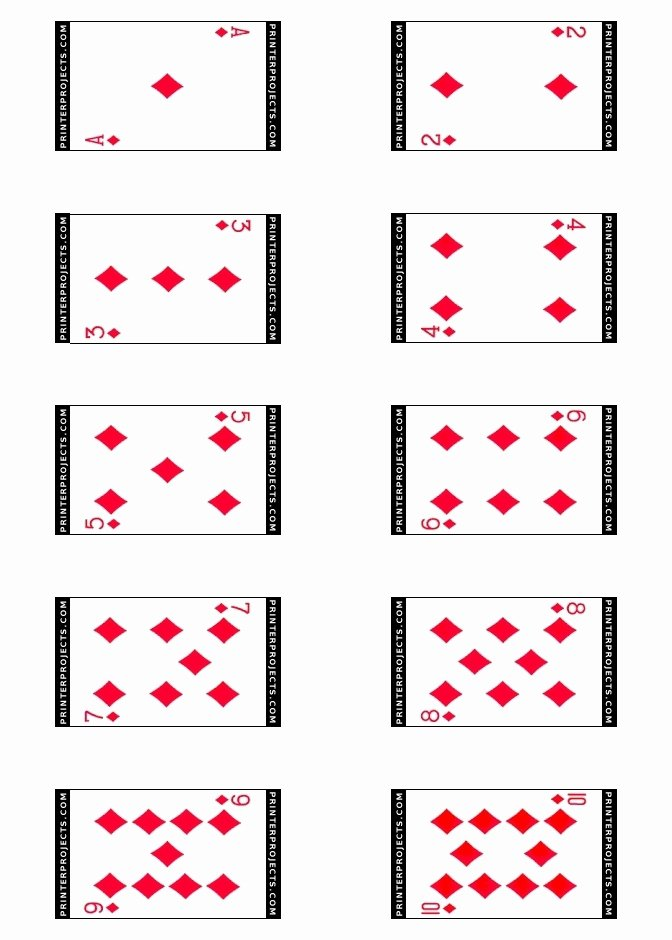 post playing card design template