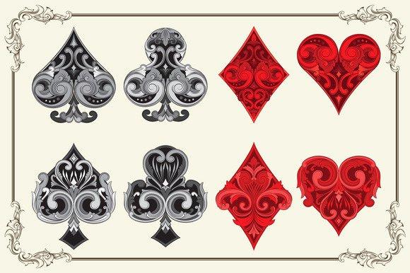 Playing Card Design Template Fresh ornament Business Card Psd Designtube Creative Design