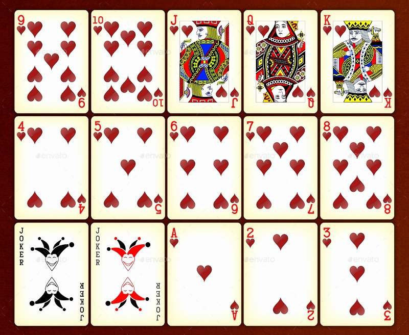 Playing Card Design Template Inspirational 22 Playing Card Designs