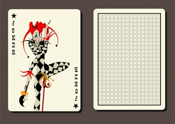 Playing Card Design Template Inspirational Free Vector Playing Cards Free Vector 14 241