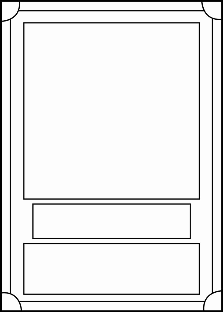 Playing Card Design Template Inspirational Trading Card Template 6 8th Grade