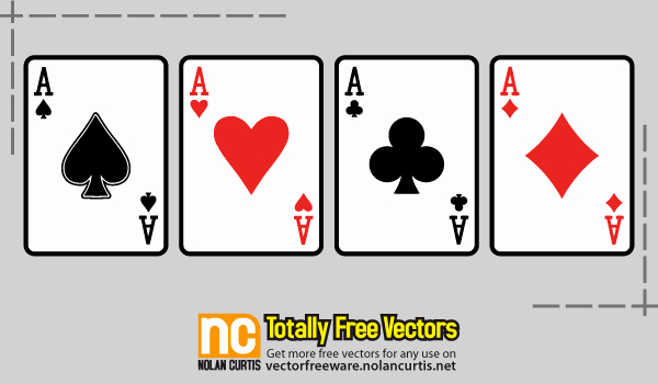 Playing Card Design Template New 13 Vector Playing Card Template Free Vector