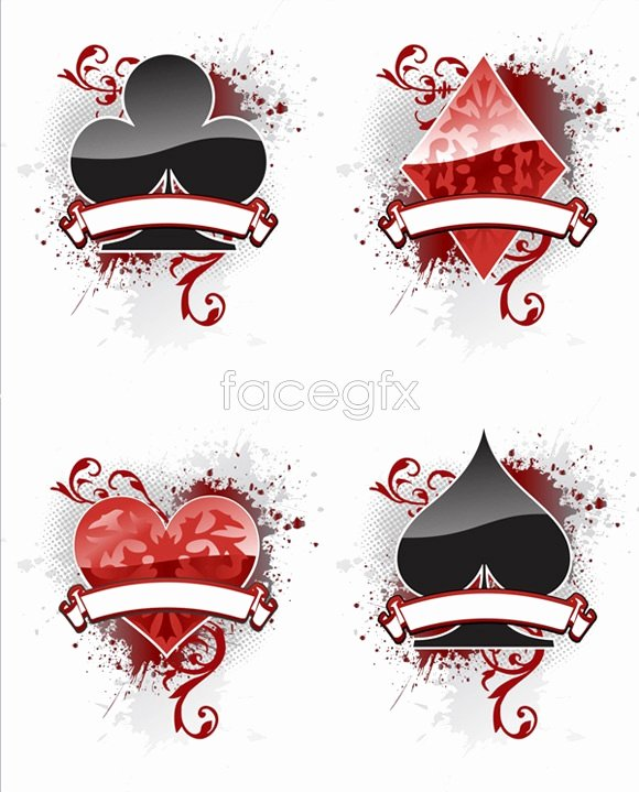 Playing Card Design Template Unique 13 Vector Playing Card Template Free Vector