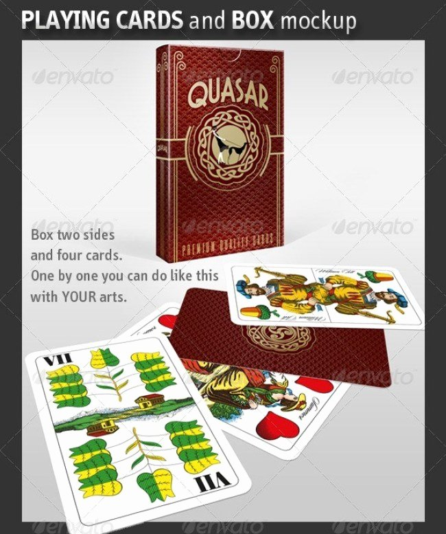 Playing Card Design Template Unique 7 Best Playing Card Mockup Psd to Showcase Poker and
