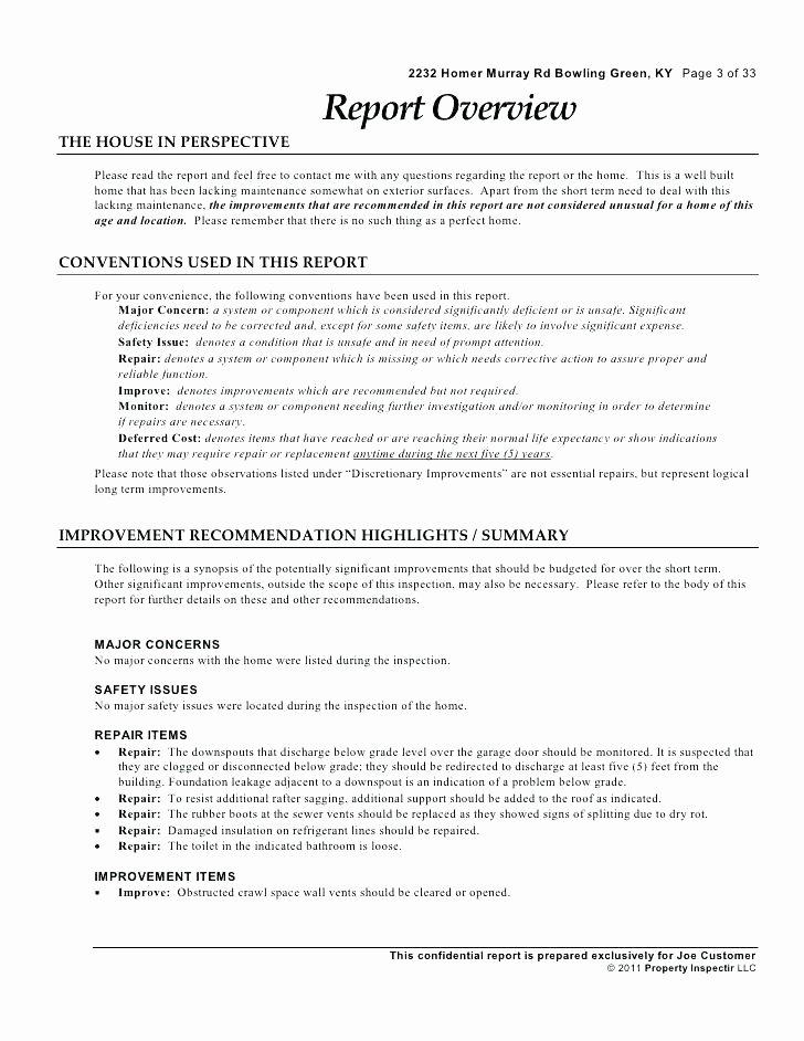 Plumbing Inspection Report Template Elegant Plumbing Inspection Report Template Property Checklist