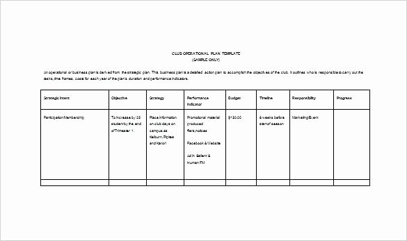 Police Operational Plan Template Awesome Police Ops Plan Template Operational Plan Templates Doc