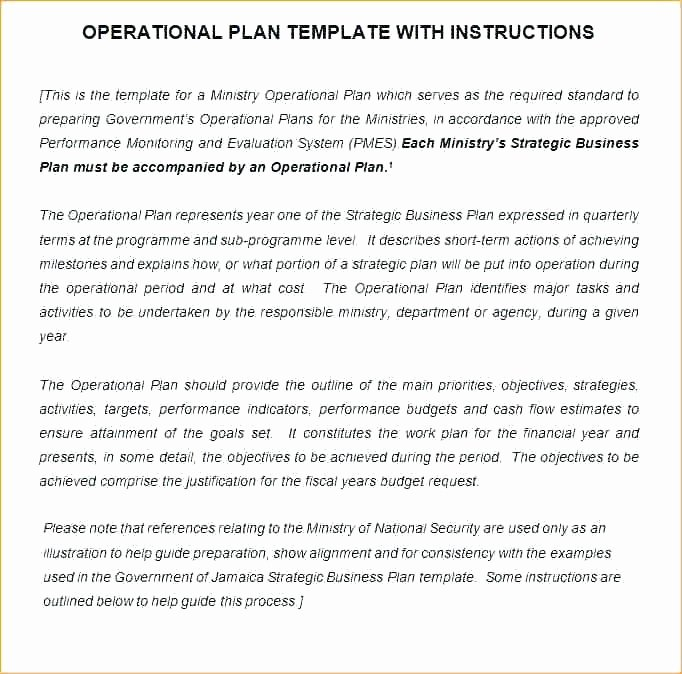 Police Operational Plan Template Lovely Operational Plan Templates Doc Free Premium Templates