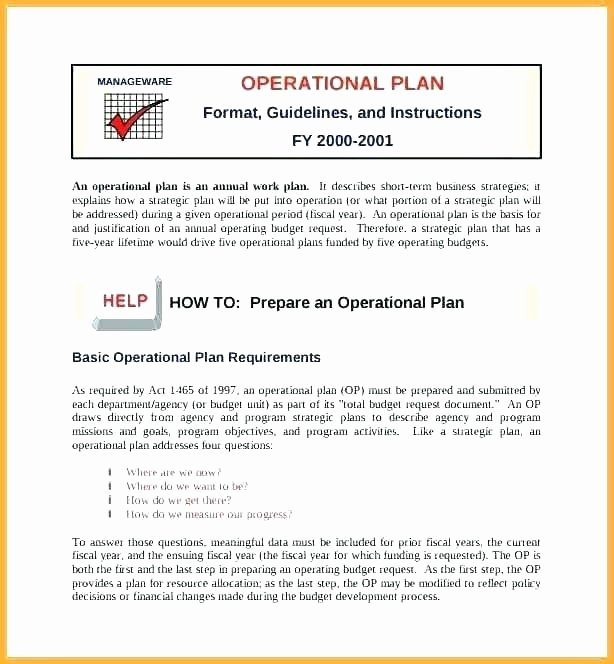 Police Operational Plan Template Unique Police Ops Plan Template Operational Plan Templates Doc