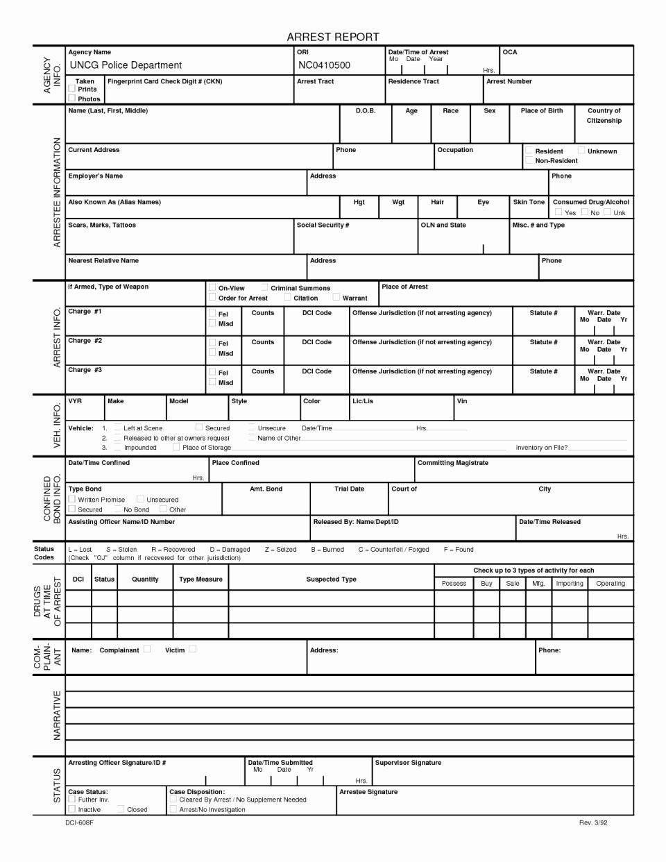 Police Report Template Pdf Best Of Fake Accident Report Template Best Police Fresh Blank