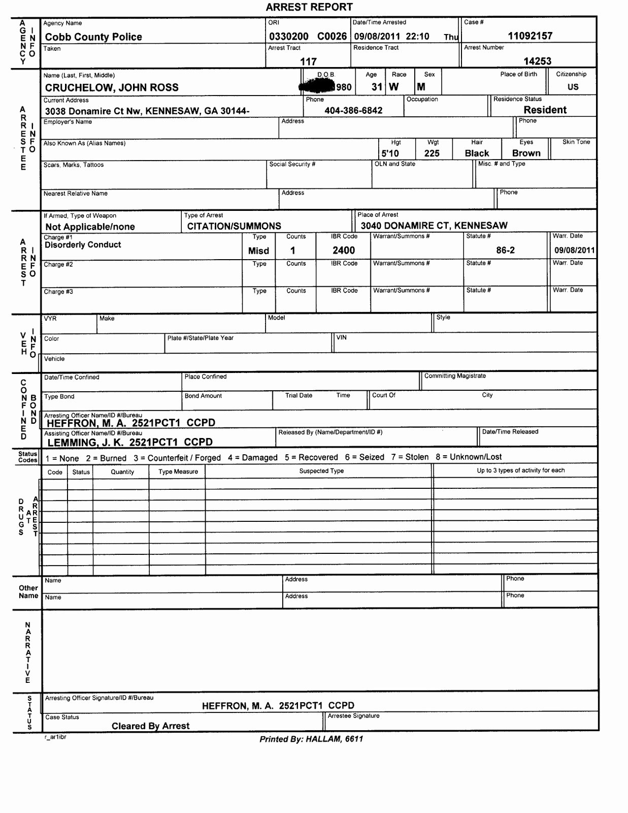 Police Report Template Pdf Best Of Police Report Template