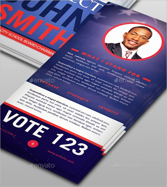 Political Palm Card Template Awesome 9 Palm Card Templates Psd Vector Eps