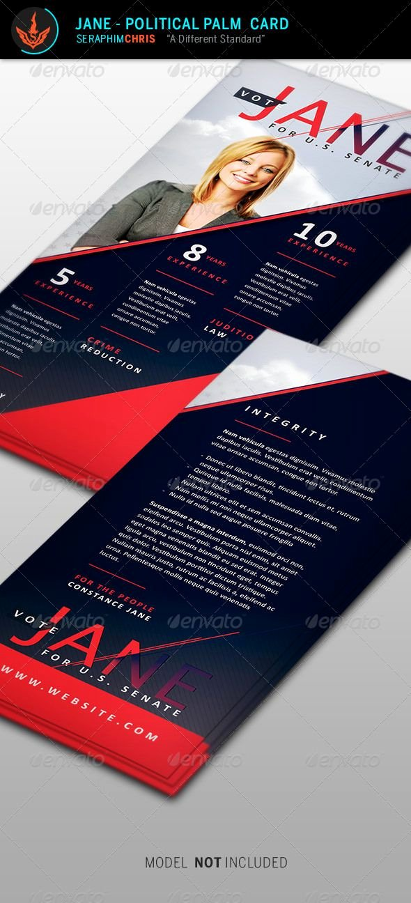 Political Palm Card Template Beautiful 17 Best Ideas About Political Campaign On Pinterest