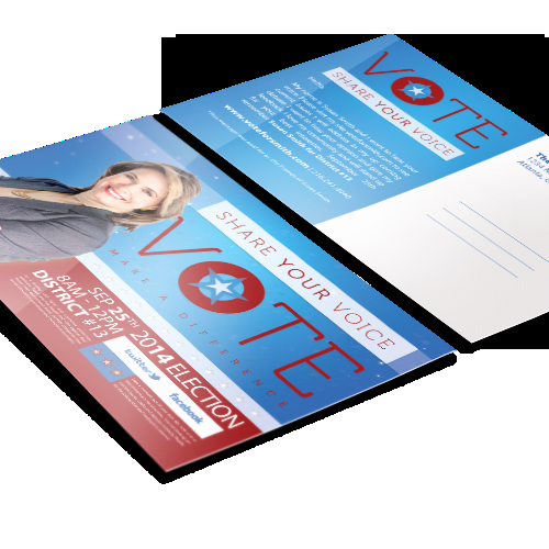 Political Palm Card Template Beautiful Political Door Hangers
