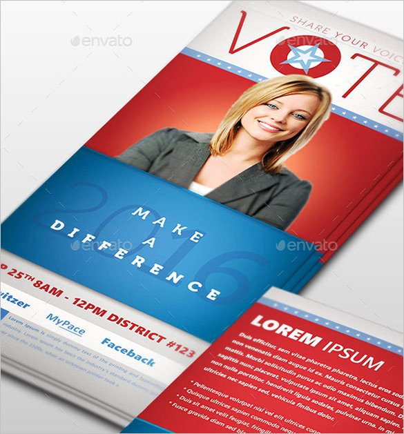 Political Palm Card Template Best Of 15 Palm Card Templates Psd Ai Vector Eps