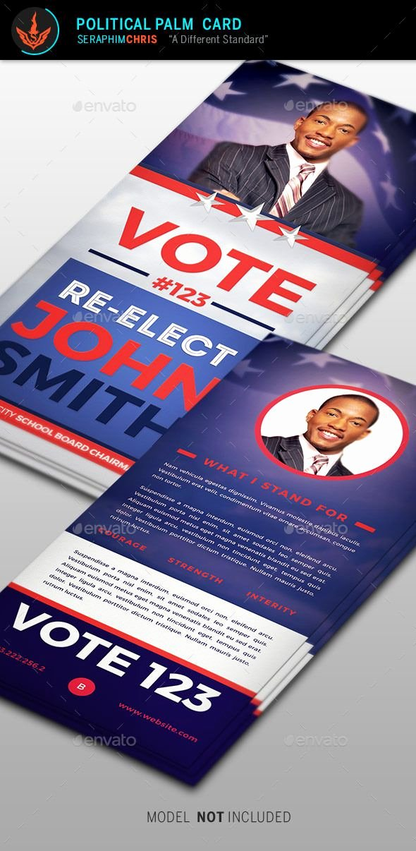 Political Palm Card Template Fresh Pin by Bashooka Web & Graphic Design On Business Flyer