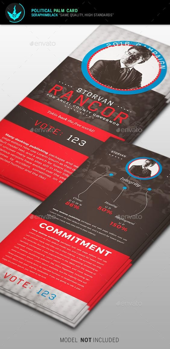 Political Palm Card Template Lovely Palms Flyers and Templates On Pinterest