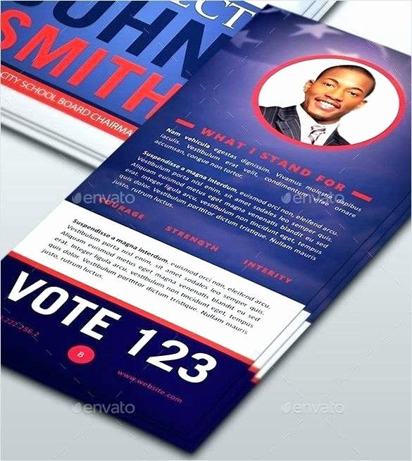 Political Palm Card Template New Push Card Template – Voipersracing