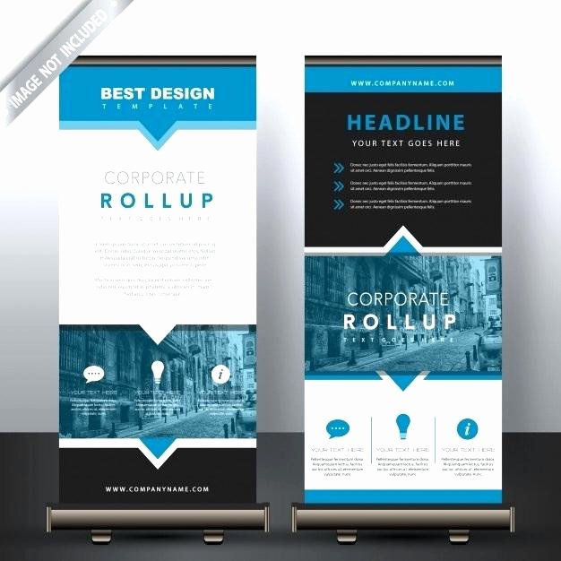 Pop Up Banner Template Awesome 99 Rollup Banner Design with Simple Shapes for