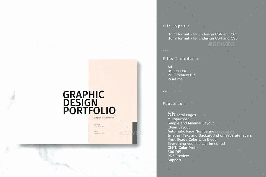 Portfolio Cover Page Template Inspirational Graphic Design Portfolio Template Psd – Voipersracing