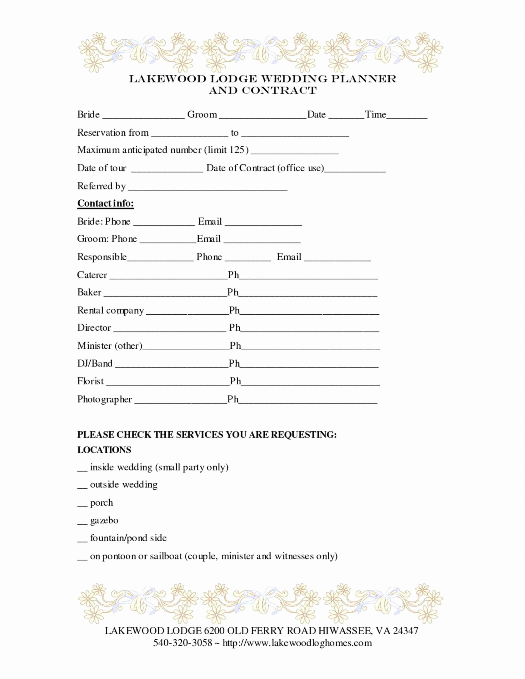 Portrait Photography Contract Template Awesome 3 4 Portrait Photography Contract Template