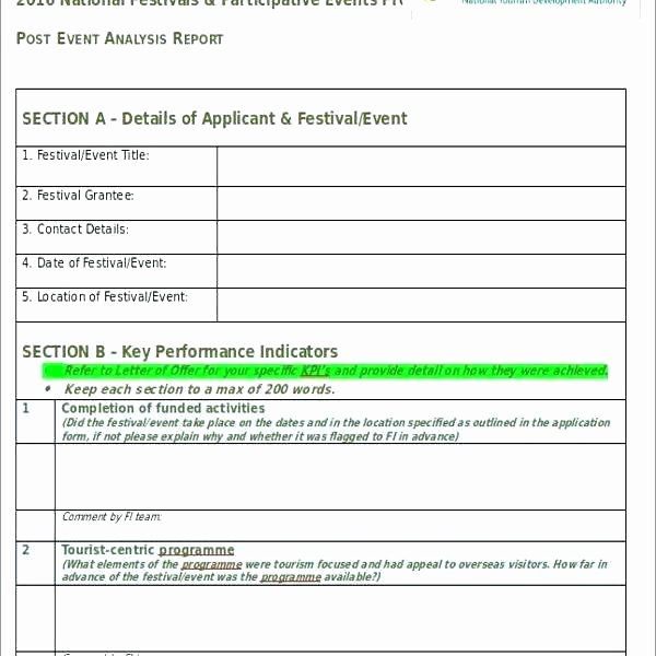 Post event Report Template Elegant Project Reports Templates Weekly Status Report Template