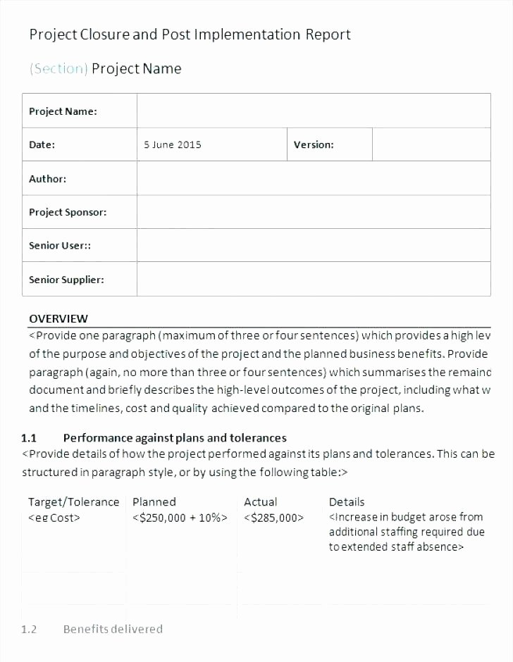 Post event Report Template Luxury Post event Report Template – Crookedroad