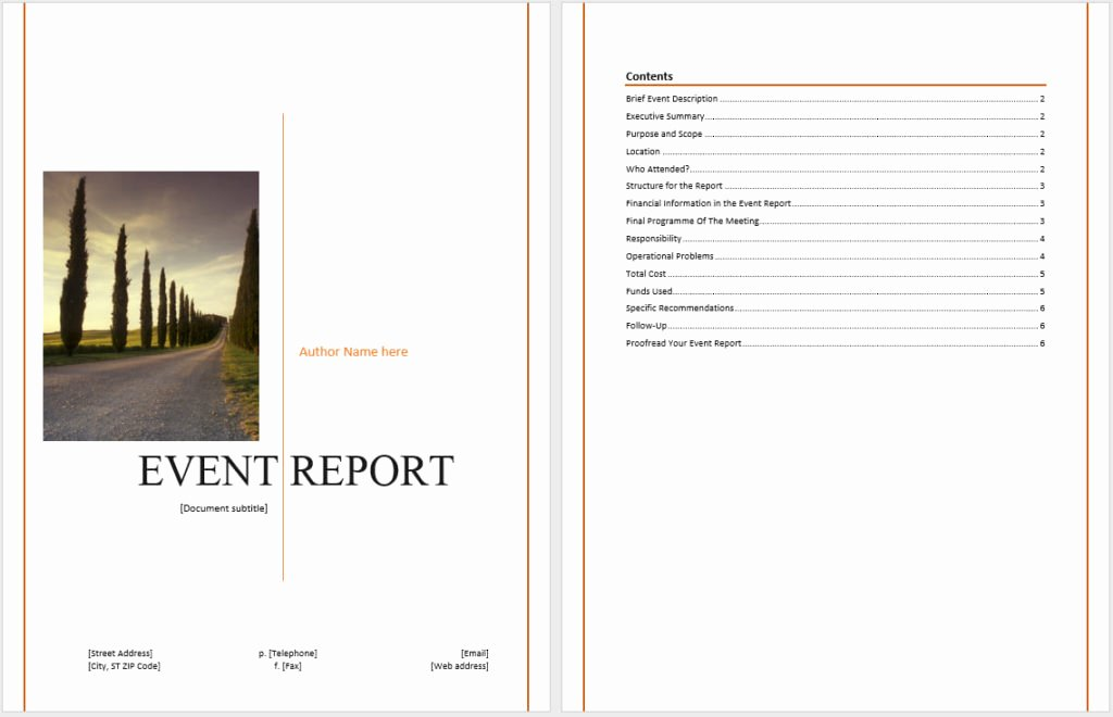 Post event Report Template New How to Write A Post event Report to Get Actionable Insights