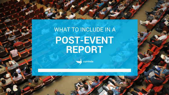 Post event Report Template Unique [template] What to Include In A Post event Report Currinda