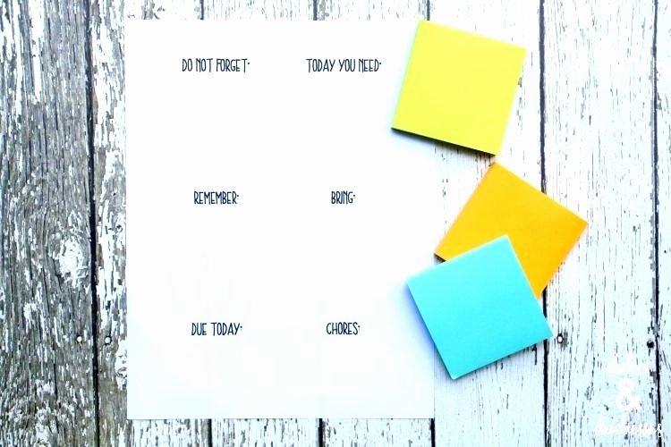Post It Note Printing Template Elegant Printing Post It Notes Word Template Full Size