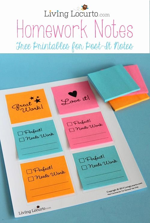 Post It Note Printing Template Inspirational 183 Best Images About Post It Note Ideas On Pinterest