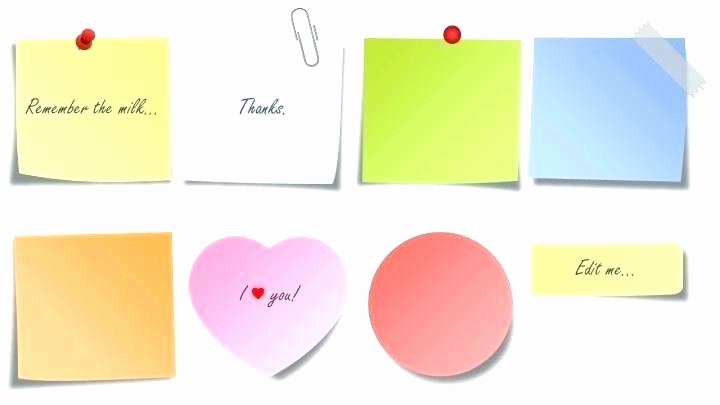 Post It Note Printing Template Inspirational Post It Note Holder Template