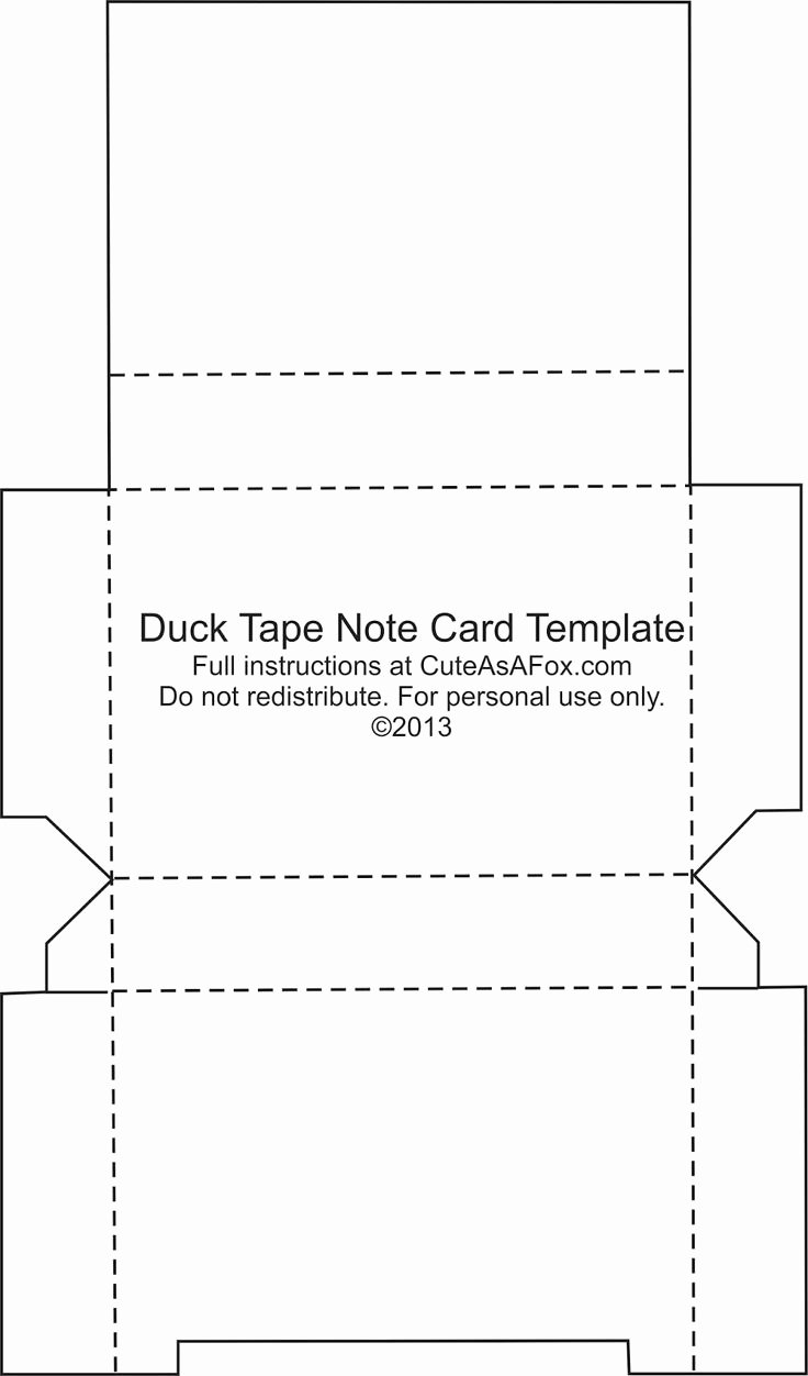 Post It Print Template Beautiful Duck Tape Flash Card Holder Duct Tape