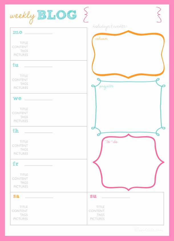 Post It Print Template Best Of 8 Best Of Post It Weekly Planner Printable Post