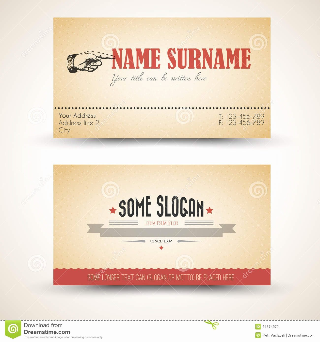 Postcard Template Front and Back Luxury Personal Business Card Templates Front and Back