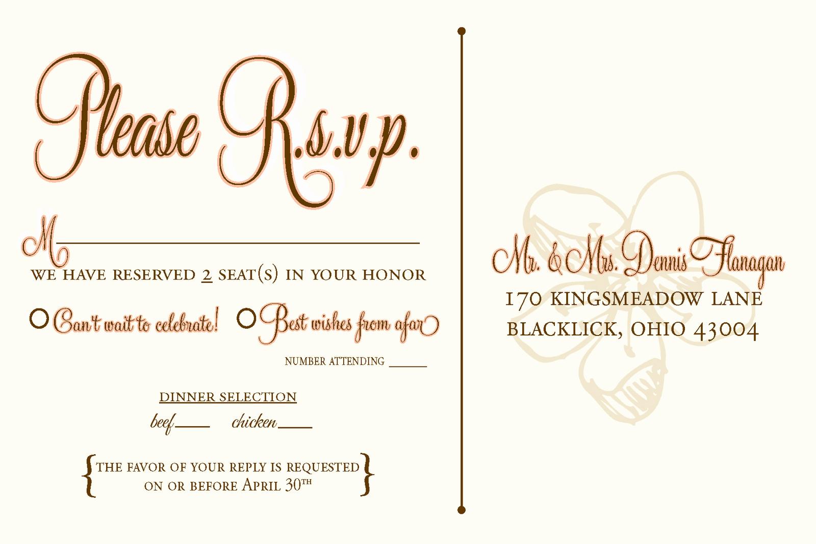 Postcard Wedding Invitations Template Best Of Designs by N Wedding Rsvp Postcards