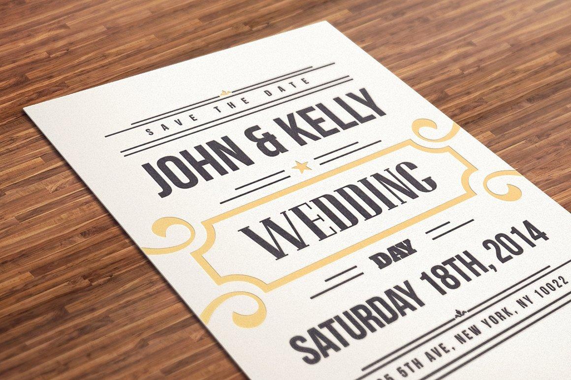 Postcard Wedding Invitations Template Best Of Vintage Wedding Invitation Postcard Wedding Templates