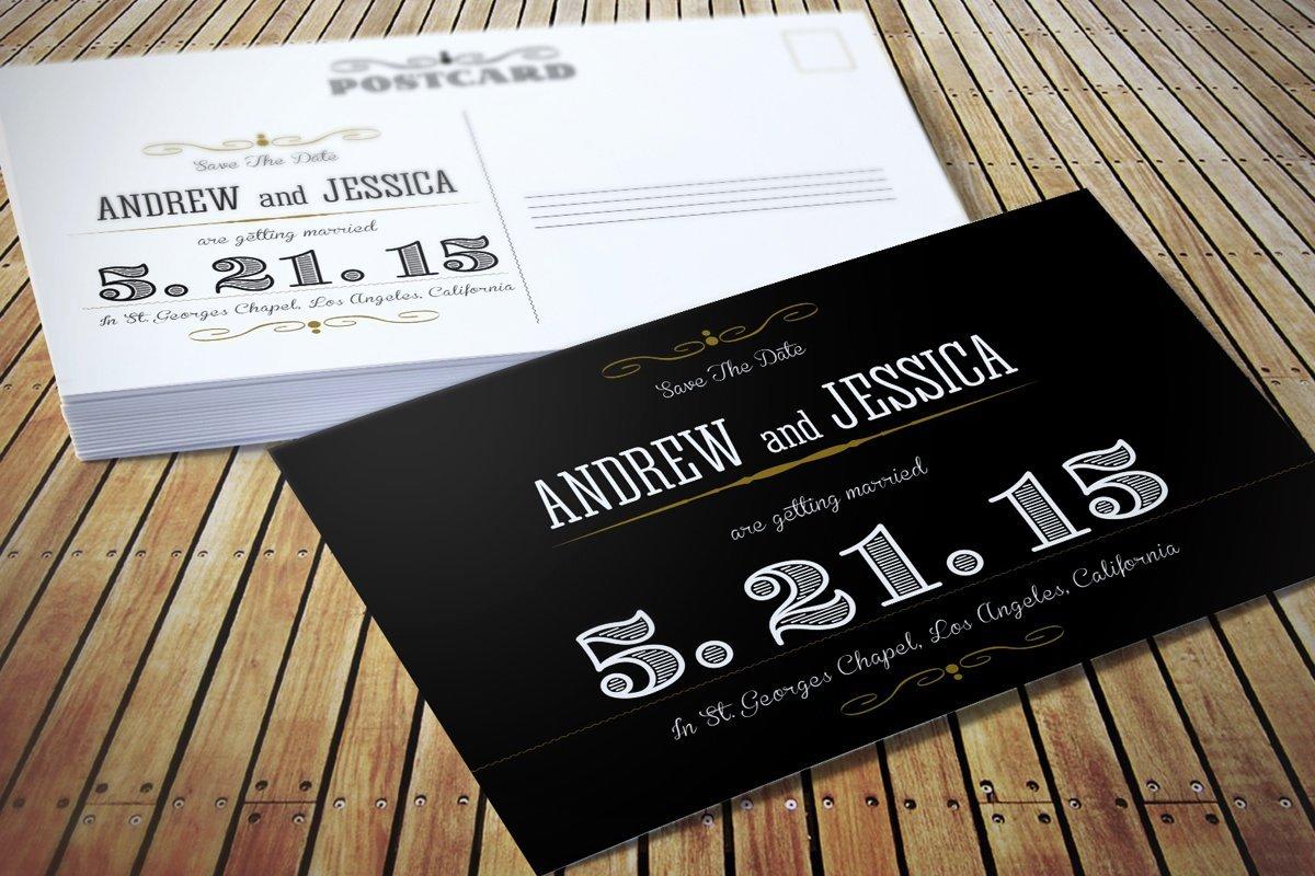 Postcard Wedding Invitations Template Elegant Wedding Invitation Postcard Invitation Templates