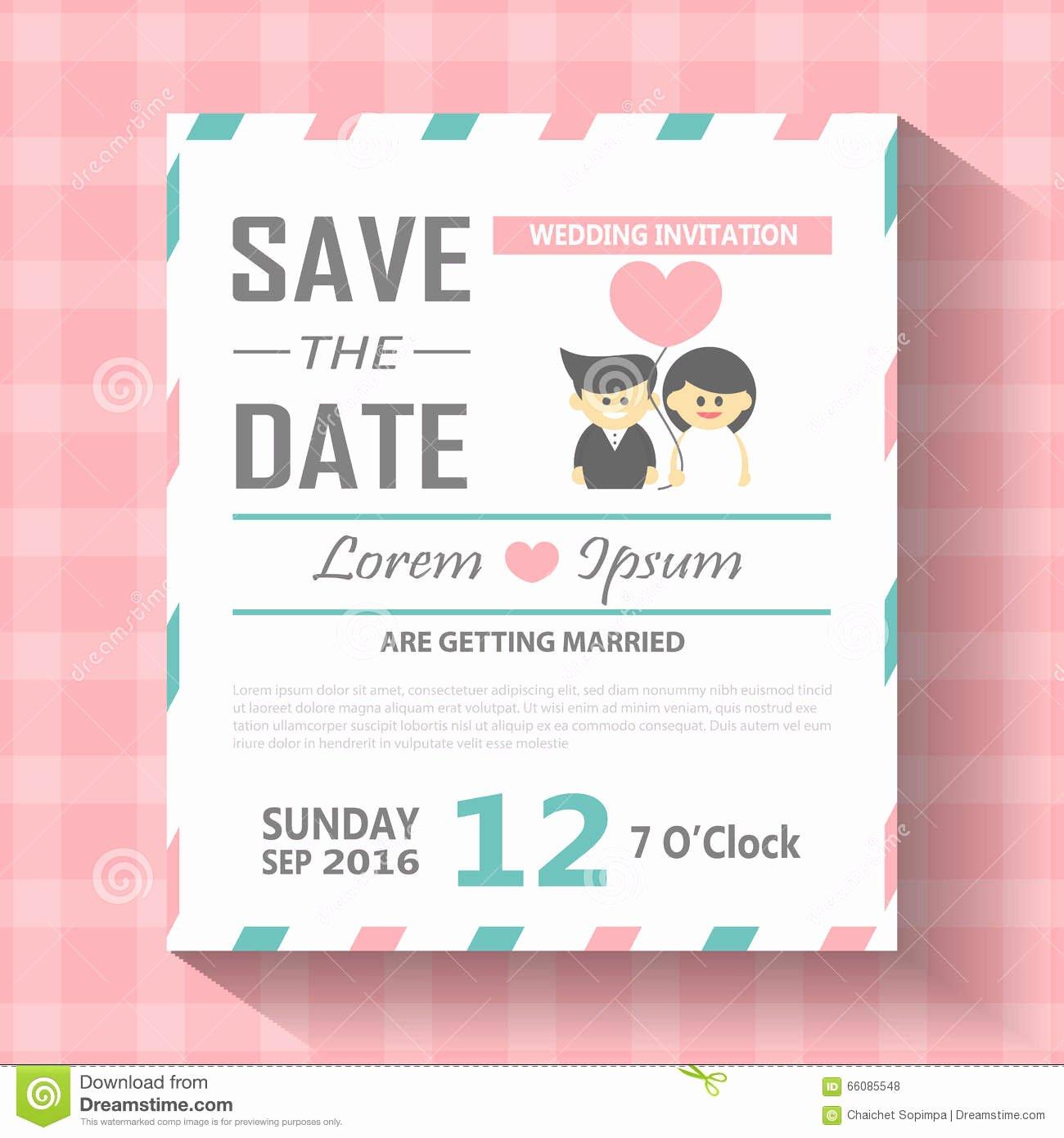 Postcard Wedding Invitations Template New Wedding Invitation Card Templates Word