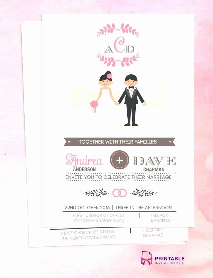 Postcard Wedding Invitations Template New Wedding Invitations Card Template Blank Invitation Empty