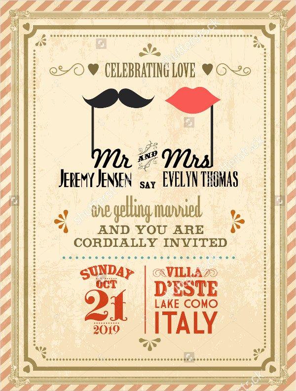 Postcard Wedding Invitations Template Unique 38 Simple Wedding Invitation Templates Psd Ai Word