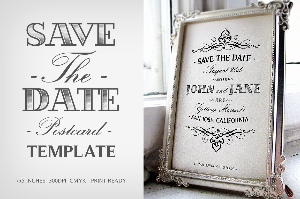 Postcards Save the Date Template Best Of Save the Date Postcard Template V 1 Invitation Templates