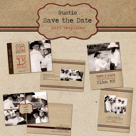 Postcards Save the Date Template Elegant Items Similar to Rustic Save the Date Cards Digital