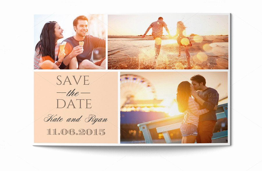 Postcards Save the Date Template Fresh Save the Date Card Invitation Templates On Creative Market