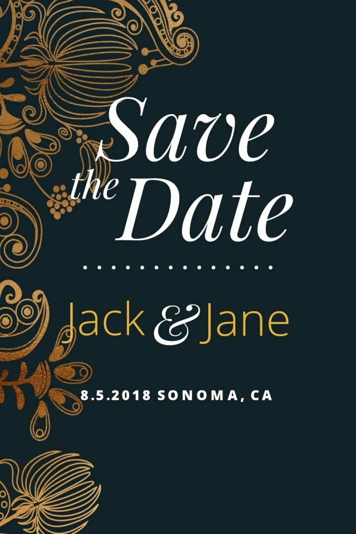 Postcards Save the Date Template Fresh Save the Date Postcard Templates & Examples