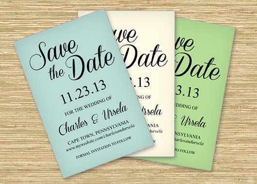 Postcards Save the Date Template Inspirational Freebie Friday Save the Date Printable Postcard