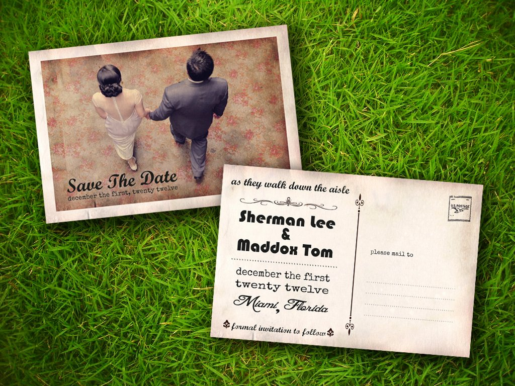 Postcards Save the Date Template Inspirational Save the Date Cards Templates for Weddings