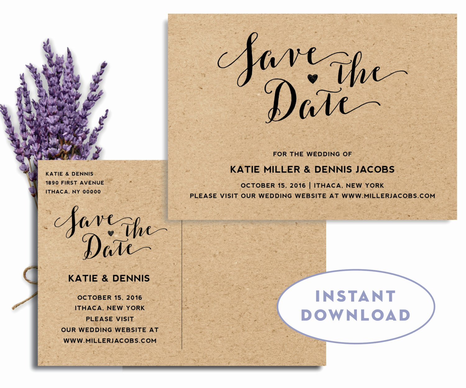 Postcards Save the Date Template Lovely Save the Date Postcard Template Rustic Save by