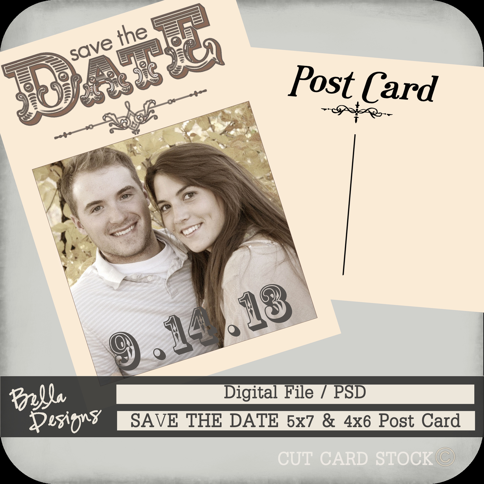 Postcards Save the Date Template Luxury Cutcardstock Affordable Cardstock for All Your