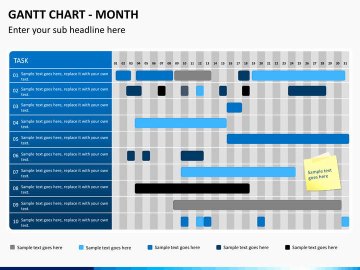Ppt Gantt Chart Template Beautiful Gantt Chart Powerpoint Template